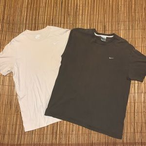 Vintage 00's Nike Embroidered Swoosh T-Shirt Lot